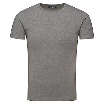 Jack and Jones Classic Rund hals T-Shirt-ljus Grå Melange