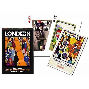 London Transport Posters Set Of Playing Cards