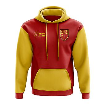 China Concept land voetbal Hoody (rood)