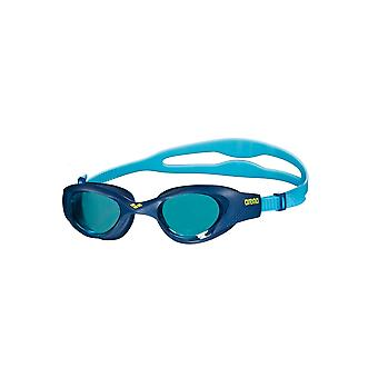 Arena The One Junior Swimming Goggles- Blue Tinted Lens - Light Blue
