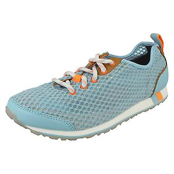 Ladies Clarks Active Wear Trainers Incast Lace