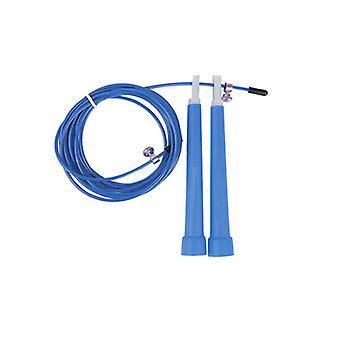 Velocidad de la cuerda de saltar cuerda azul
