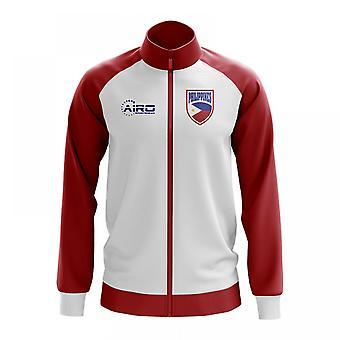 Filippinerna konceptet fotboll Track Jacket (White)