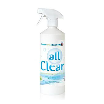 All Clear 1 litre Probiotic Stain Remover and Odour  Control