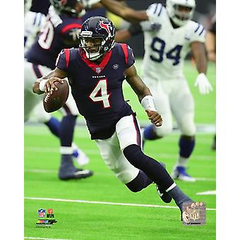 DeShaun Watson 2018 Action Photo Print