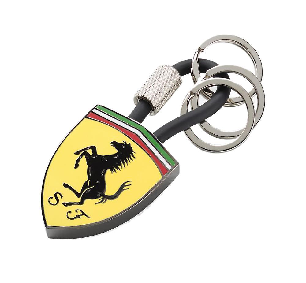 Waooh - Karabiner Schlüsselanhänger mit Ferrari
