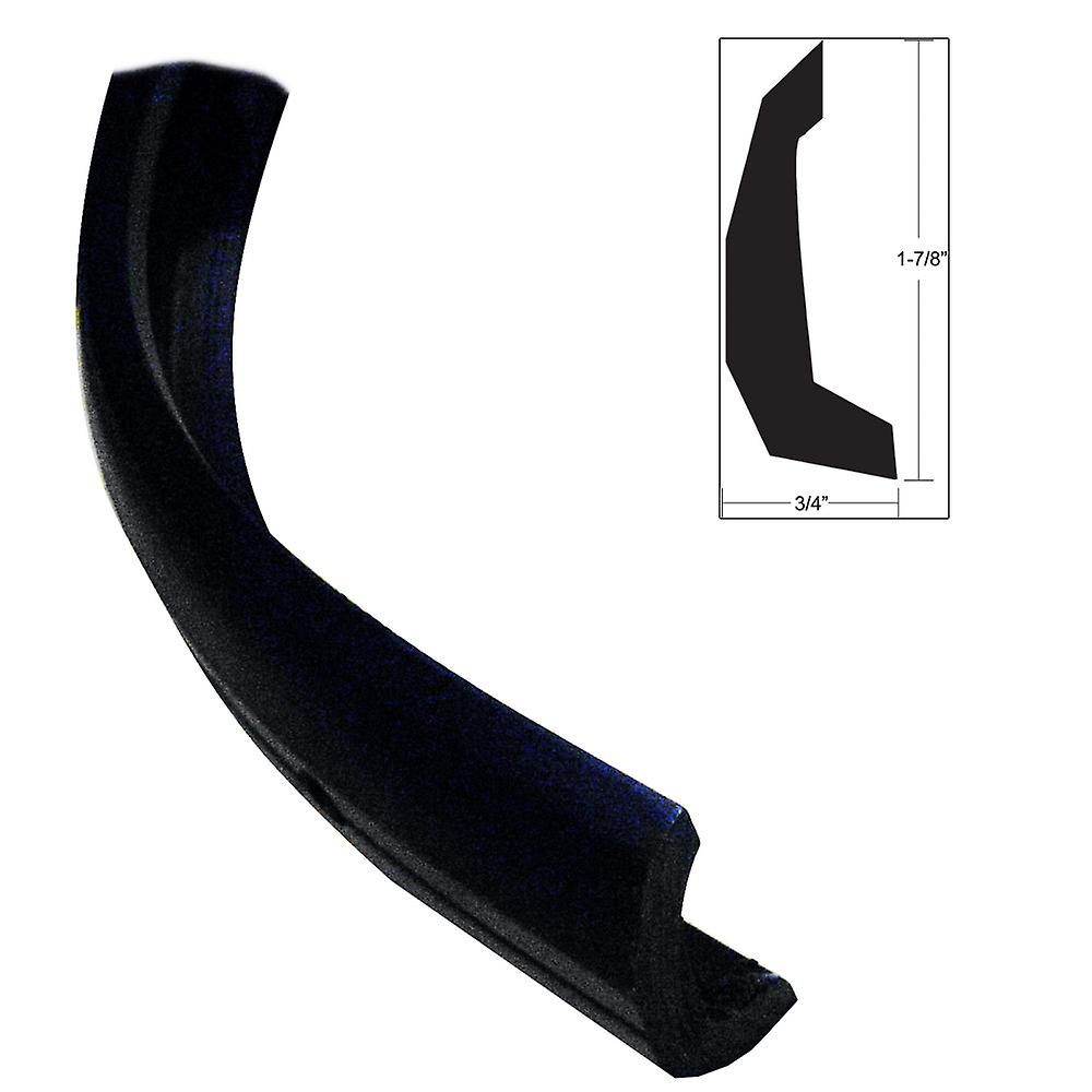 TACO Semi-Rigid Rub Rail Kit - noir w No Insert - 30&