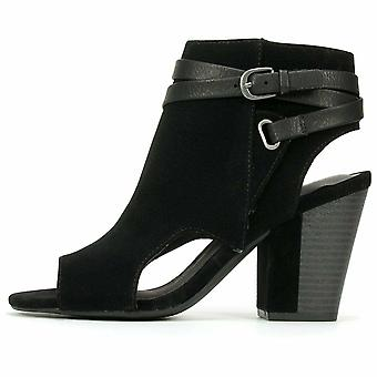 White Mountain Womens Shira Open Toe Ankle Fashion Boots