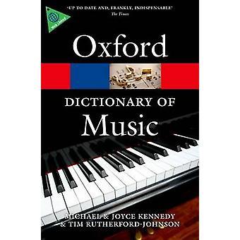 قاموس أكسفورد للموسيقى (الطبعة المنقحة 6) التي تيم روثيرفور