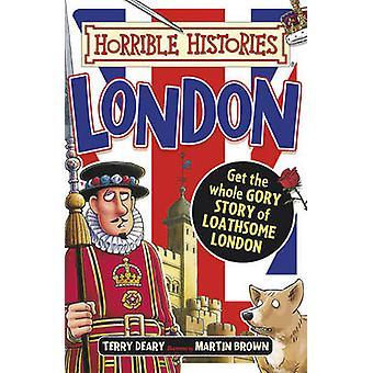 London by Terry Deary - Martin Brown - 9781407165547 boka