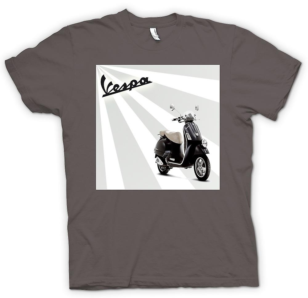 Womens T-shirt - Vespa - Cool Scooter