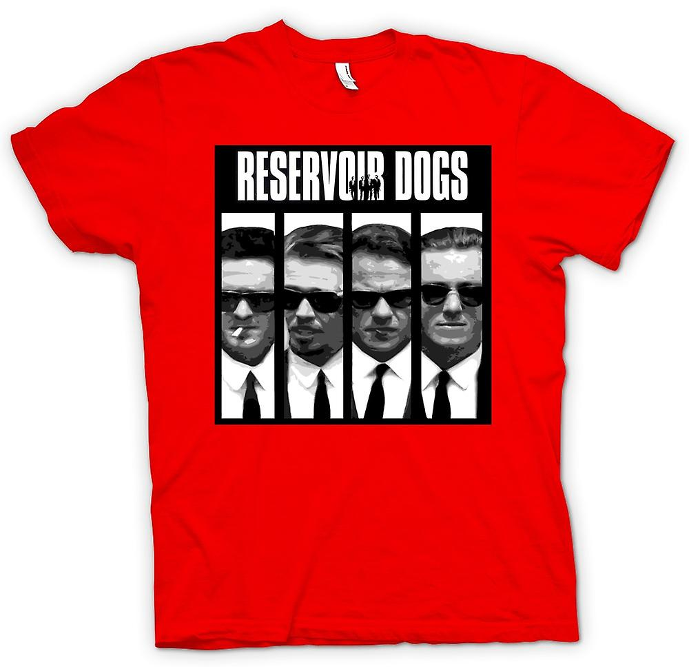 Mens t-skjorte - Reservoir Dogs - Collage og ord