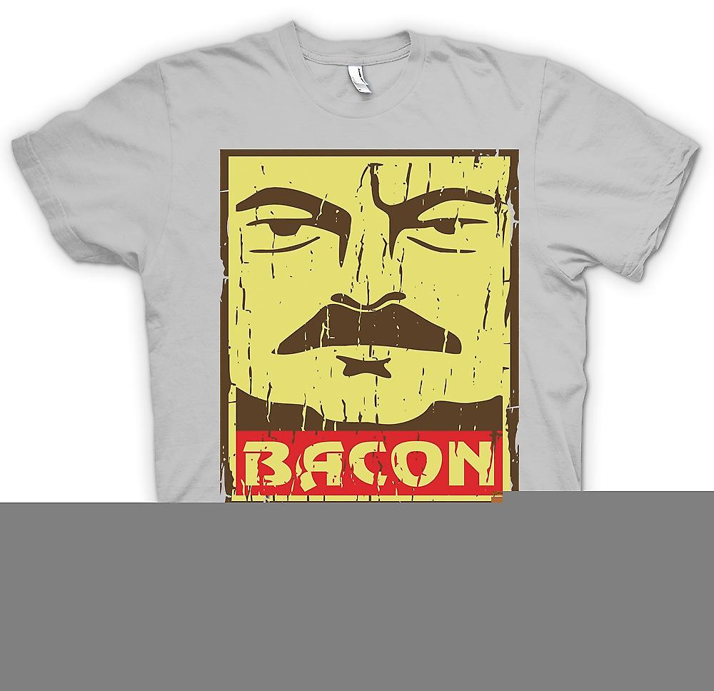 Mens T-shirt - Bacon - Ron Swanson