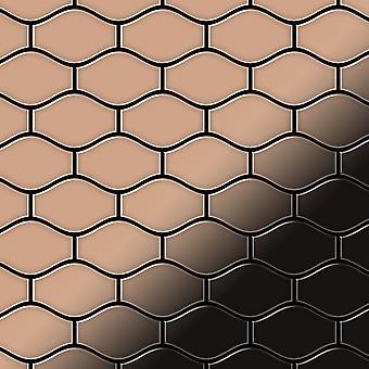 Mosaico de metal sólido Cobre ALLOY Karma-CM