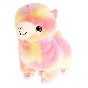 Juguete de la felpa de la Llama del arco iris de juguetes de la quilla