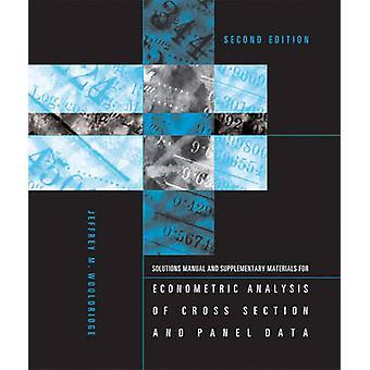 Opiskelijan ratkaisuja manuaalinen ja täydentävät materiaalit Econometri
