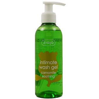 Ziaja natural skin care intimate wash gel with chamomile 200 ml - intimate hygiene