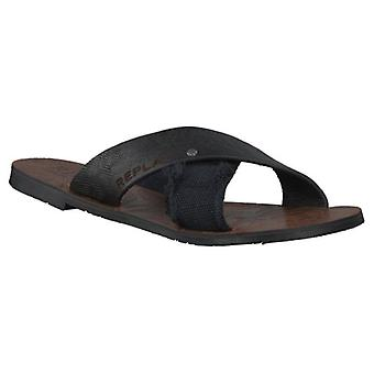 Replay mens sandal-zwart