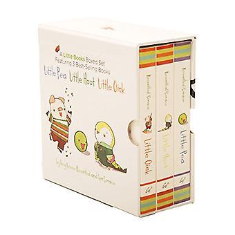 Ein wenig Bücher Box Set mit: Pea/kleine Hoot/wenig Oink