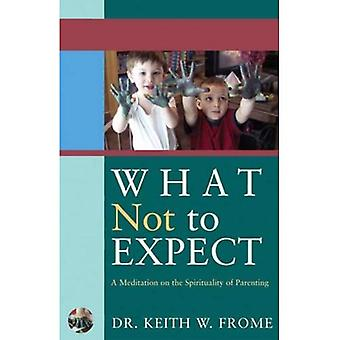 What Not to Expect: A Meditation on the Spirituality of Parenting