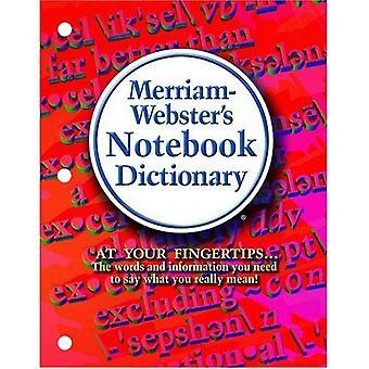 Notebook-Wörterbuch Merriam-Webster
