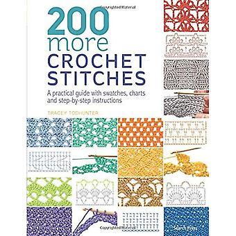 200 más de puntos de Crochet: Una guía práctica con muestras, cartas e instrucciones paso a paso