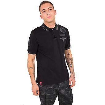 Polo shirt d'équipage masculin Alpha industries