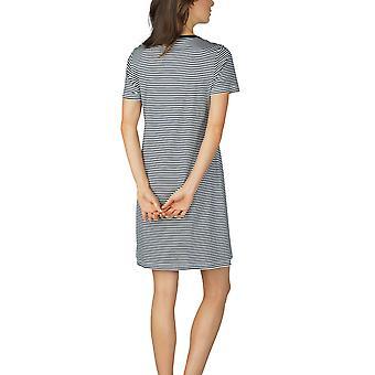 Paula Mey 11951 donne a righe cotone camicia da notte