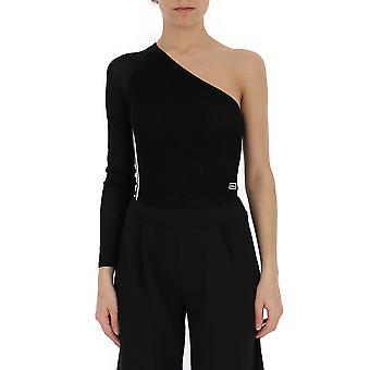 Adidas Black Cotton Bodysuit
