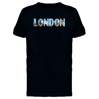 London City Lovers Quote Tee Men's -Image by Shutterstock
