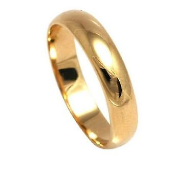Ah! Jewellery Gold Electroplated Band Ring Set With Simulated Diamonds
