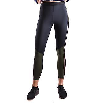 F**k Black/green Polyester Leggings