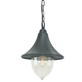Firenze catena Outdoor Lanterna - Elstead illuminazione F8 nero