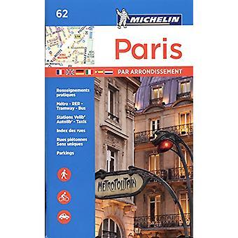 Michelin Paris by Arrondissements Pocket Atlas - 9782067211582 Book