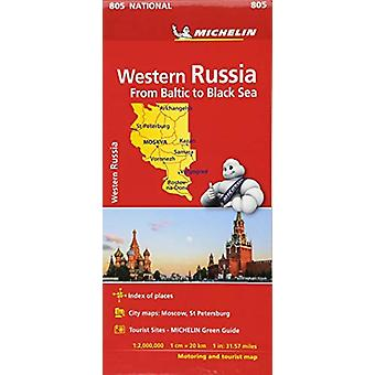 Western Russia - Michelin National Map 805 - Map by Western Russia - M