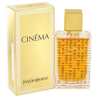 Cinema by Yves Saint Laurent Eau De Parfum Spray 1.15 oz / 34 ml (Women)
