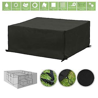 Gardenista® Black Protective Cover for for 10 Piece Cube Patio Set
