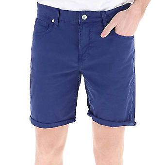 Guess Men's Stretch Shorts  Blue