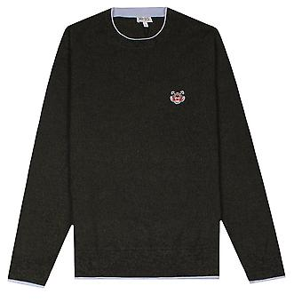 Kenzo Small Tiger Logo Knitted Jumper