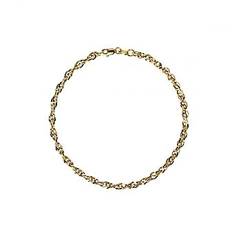 Eternity 9ct Gold Ladies 7 1/4'' Prince Of Wales Bracelet