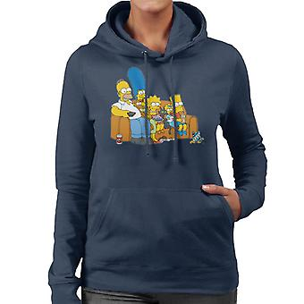 The Simpsons Movie Time Women's Hooded Sweatshirt
