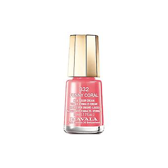 Mavala Mini Color Creme Nail Polish - Funny Coral (332) 5ml