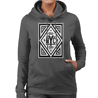 Divide & Conquer USA NYC Women's Hooded Sweatshirt