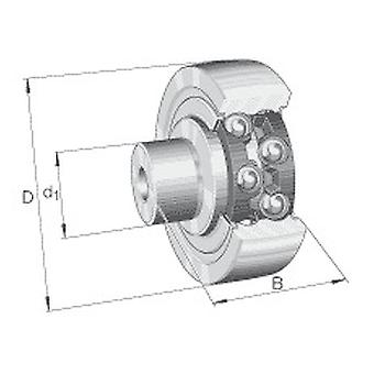 INA ZL202-DRS Stud tyyppi Track Roller