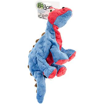 goDog Dinos Spike with Chew Guard Large-Blue 770796