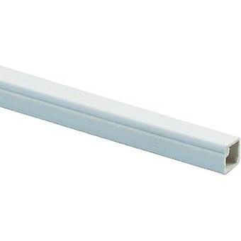Mini duct (L x W x H) 2000 x 10 x 10 mm Heidemann 09928 1 pc(s) Pure white