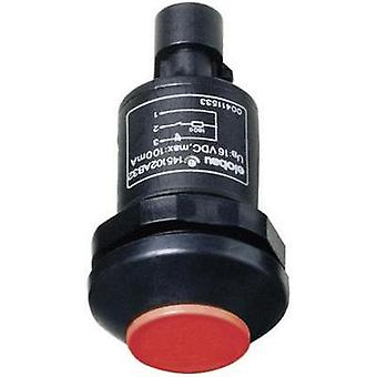Pushbutton 48 V DC/AC 0.5 A 1 x On/(Off) Elobau 145010AB-RD IP67 momentary 1 pc(s)