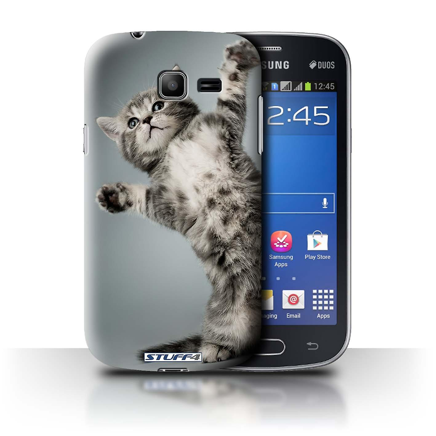 Stuff4 Case Cover For Samsung Galaxy Star Pro S7260 High Five Cute Sansung Duos Kittens Housses Pour Tlphones Mobiles