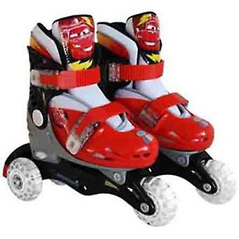 Stamp Adjustable Skates Cars 2. Size 30-33 (Ar-Livre , Sobre Rodas , Patins)