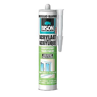 Bison Acrylaatkit Transp 310 Ml